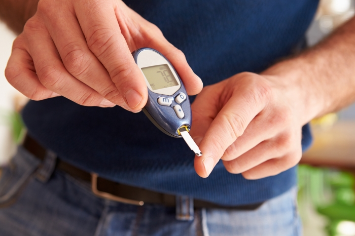 Limited joint mobility in diabetes