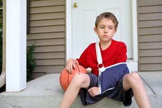 Shoulder instability in children 18 years and under