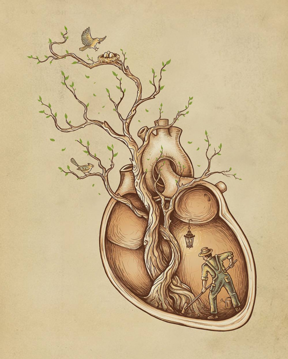 A different view on anatomy with Enkel Dika