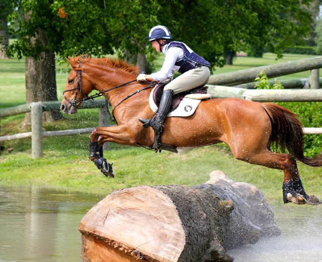 The physical demands of eventing in horse riders