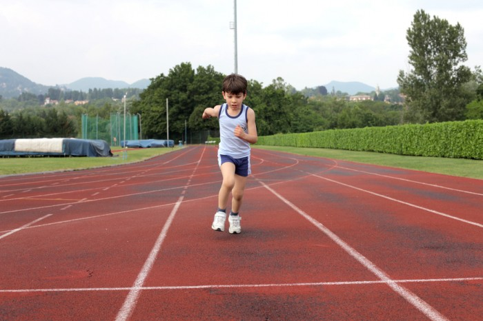 Running as a sport for young people