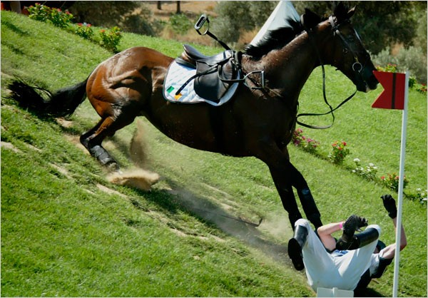 Injuries associated with recreational horse riding