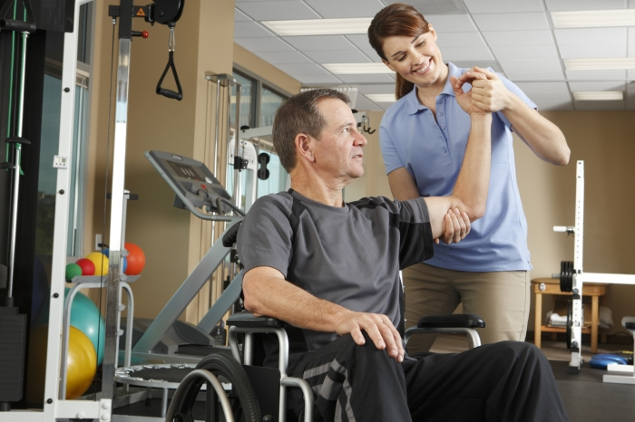 Rehabilitation for patients with spinal cord injuries