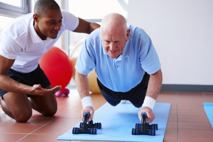 Resistance training, creatine and protein in frail elderly