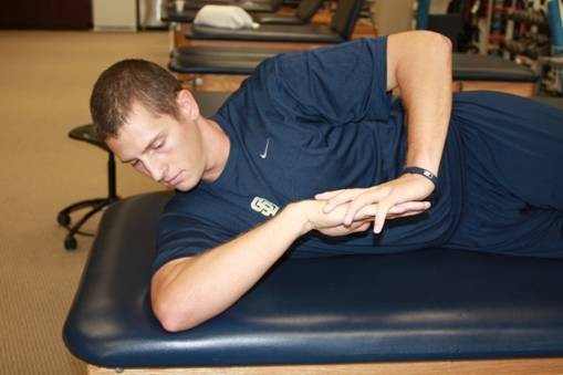Effects of stretching for posterior shoulder tightness