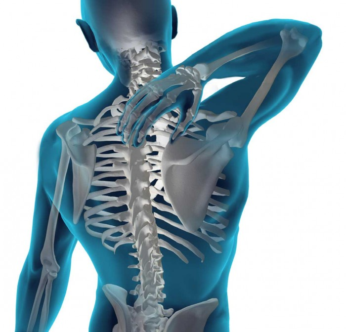 Thoracic kyphosis and physical function