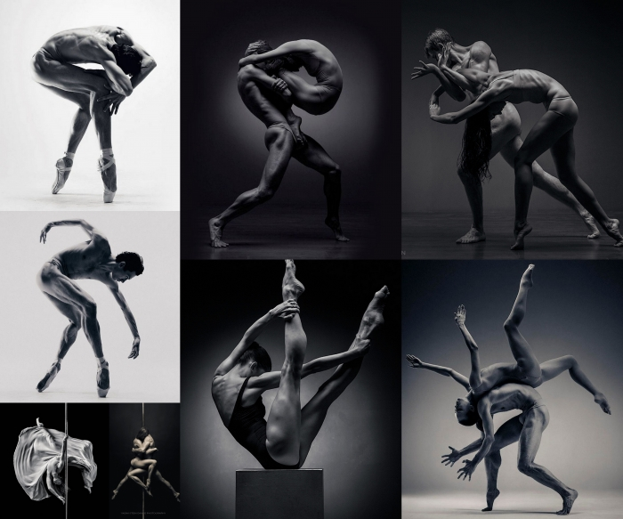 Dancers in captivating motion by Vadim Stein