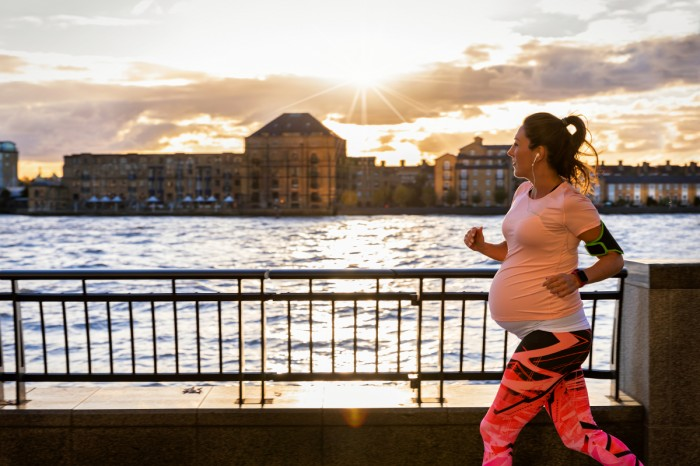 Frequent exercise during pregnancy
