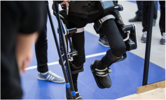 Mechanically assisted walking in children with CP