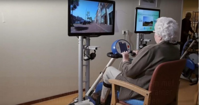 Exergaming to reduce frailty in older people with dementia