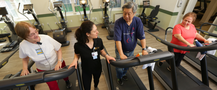 Advice about activity for older inpatients