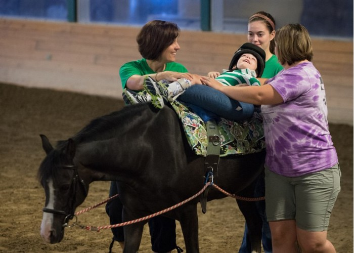 Horseriding therapy and posture in children with CP