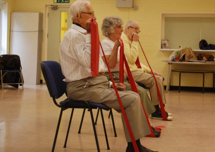 Exercise benefits for elderly with cognitive impairment