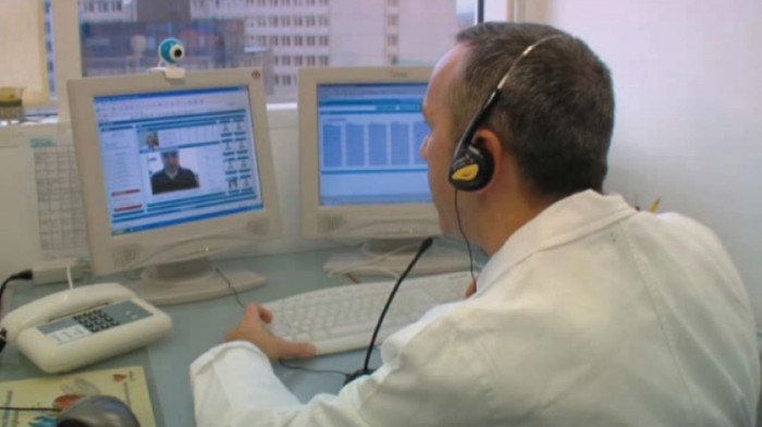 Advanced telerehabilitation for stable COPD