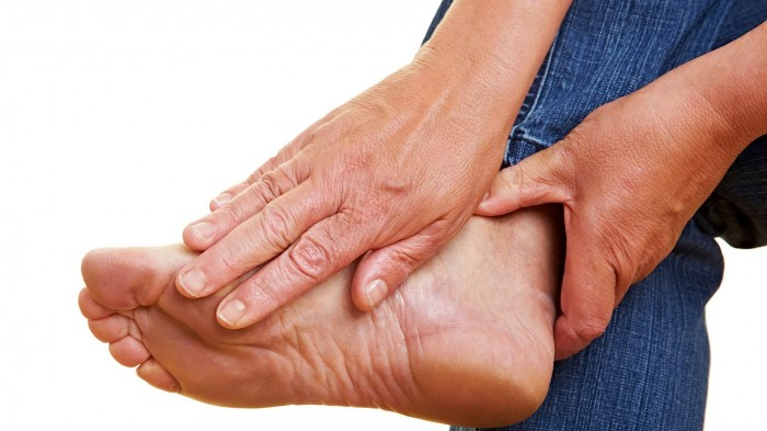 Foot and ankle muscle strength in people with gout