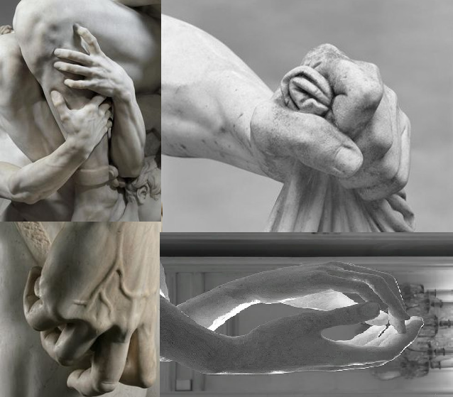 The anatomy of Hands in visual arts