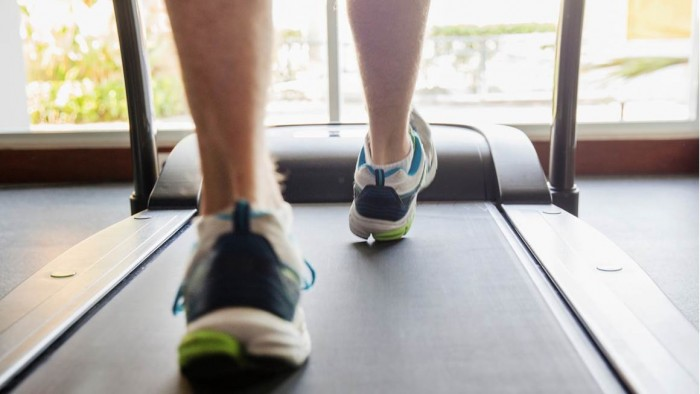 Treadmill walking after stroke