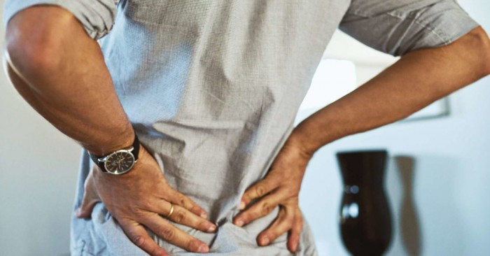 Advice and education for spinal pain