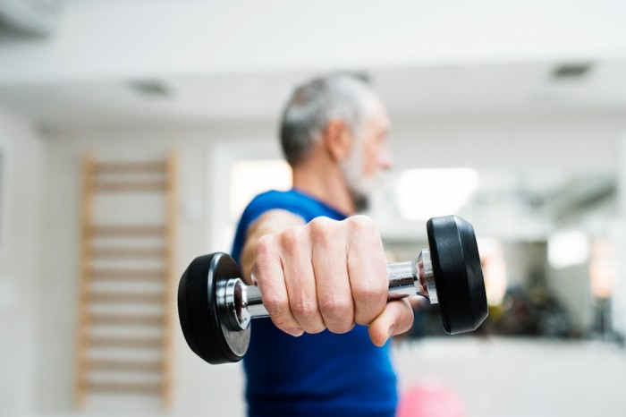 Attenuating frailty in elderly using exercise and nutrition