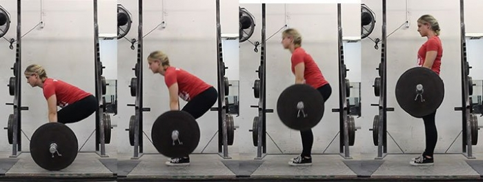 The sticking point in weight lifting