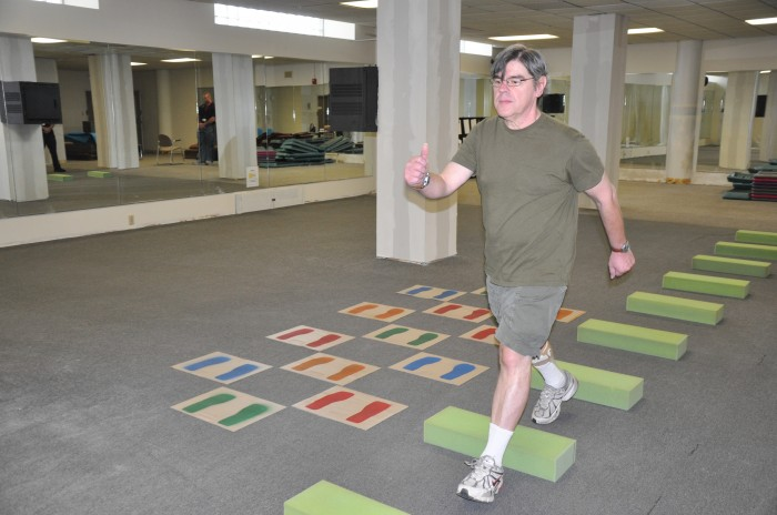 Improving gait in Parkinson's Disease
