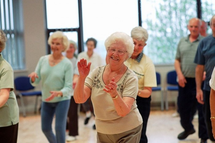 Creative dance for older people
