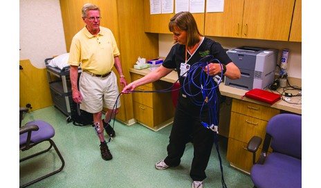 Biofeedback to improve lower limb function after stroke