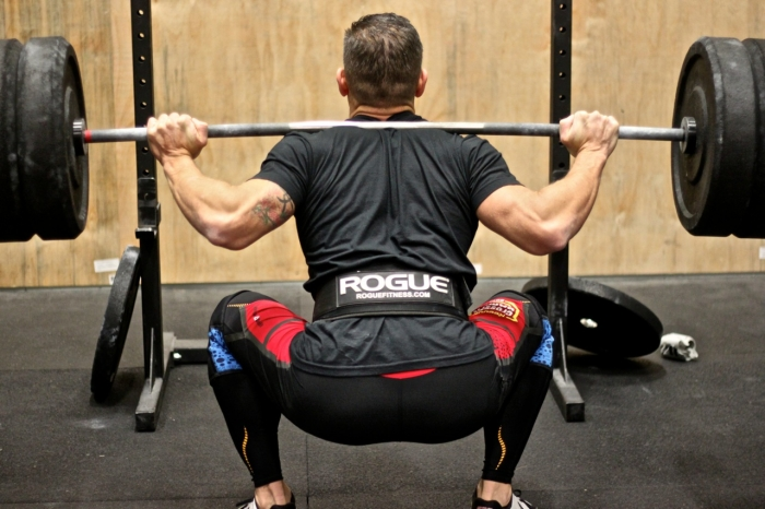 Muscle activity in the back squat versus hip thrust exercise