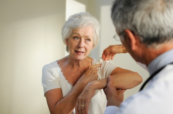 Exercises and reduced need for surgery subacromial pain