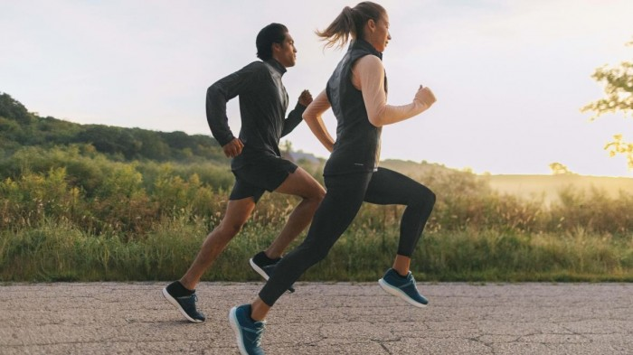 The effect of running on knee joint cartilage