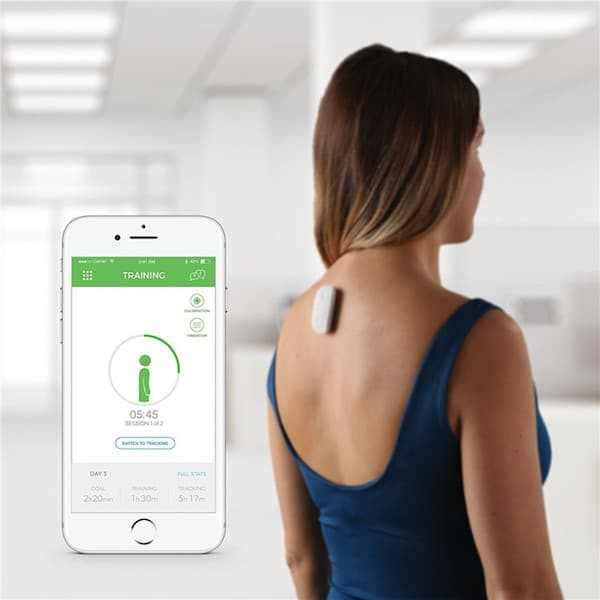 Application of real-time postural device for neck pain