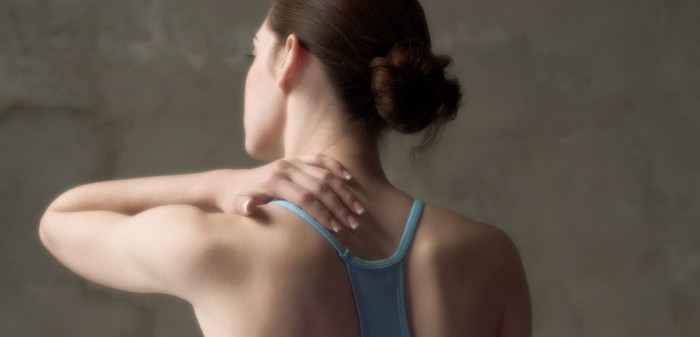 Core and scapular stability exercises for neck pain