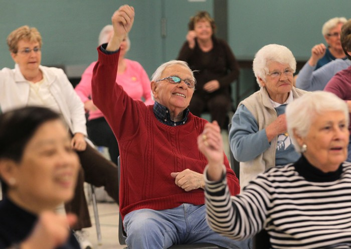 Exercise programs in elderly with cognitive impairment