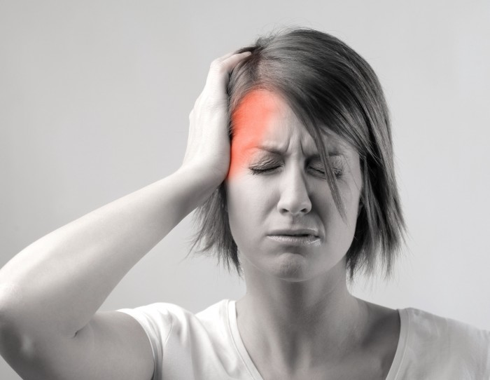 Neck extensor muscular structure in cervicogenic headaches