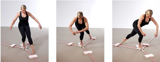 Exercise can improve dynamic balance in knee OA patients
