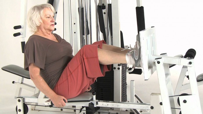 Repetition speed in resistance training for elderly