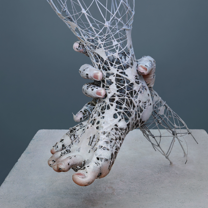 Surreal images of decay of the human body by Yuchi Ikehata